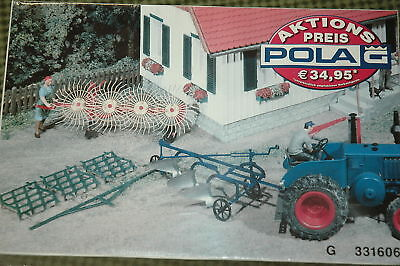 Pola 331606 Agricultural Devices construction. G Scale NEW