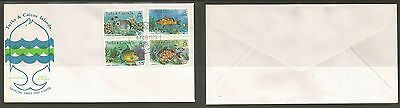 Turks & Caicos 1979 Fish. Full Set. First Day Cover (FDC).