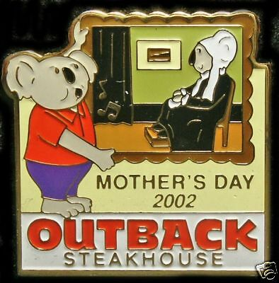 A6188 Outback Steakhouse Mothers Day 2002 Koala