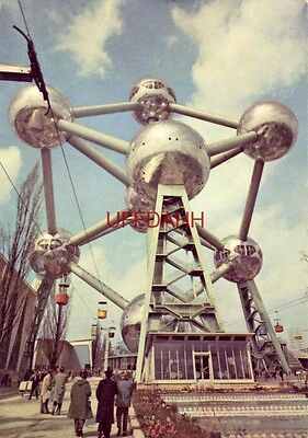 Continental-size ATOMIUM, 1958 BRUSSELS WORLD'S FAIR, EXPO '58 LANDMARK