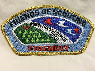 "Boy Scouts - 2001 Friends of Scouting ""Friendly"" Minsi Trails Council csp"