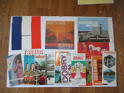 Huge Lot of Travel Foreign Brochures From Montreal Expo 67 Over 110 Ephemera