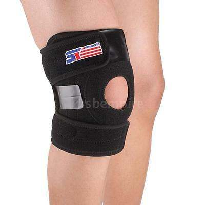 SX625 Adjustable Sports Leg Knee Support Brace Wrap Protector Pad MF H9G6
