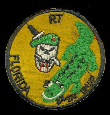 US Army RT Florida Recon Vietnam Patch F-4