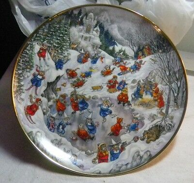 Convent Capers Bill Bell Franklin Mint Heirloom Collector Plate Cats Cat