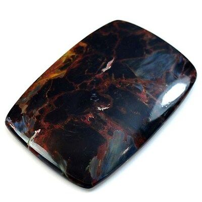 96Ct HUGE Natural Pietersite (54mm X 35mm) Cabochon