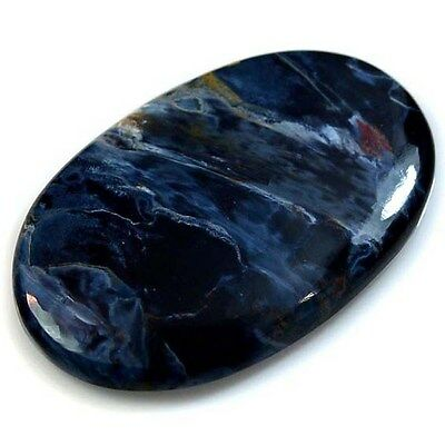 38.5Ct Natural Pietersite (39mm X 24mm) Cabochon