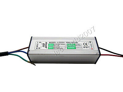 50W High Power LED Driver Constant Current Power Supply DC 30V-36V 1500mA