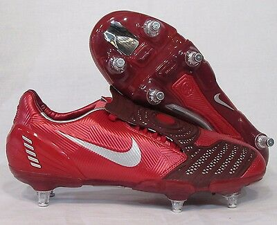 MENS Red Rare NIKE Total 90 LASER ii SG PROMO Soft Ground Football Soccer Boots