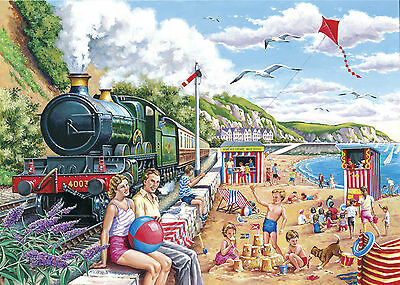 The House Of Puzzles - 250 BIG PIECE JIGSAW PUZZLE - Seaside Special Big Pieces