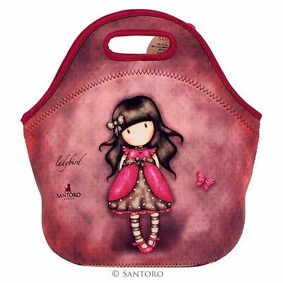 SANTORO LONDON GORJUSS Lunch Tasche 519GJ02 - Ladybird NEU/OVP
