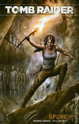 Tomb Raider TPB (2016 Dark Horse) By Mariko Tamaki #1-1ST NM