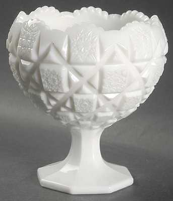 Westmoreland OLD QUILT (MILK GLASS) Footed Cupped Bowl 769544