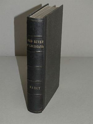 Exploration Red River Louisiana - Marcy McClellan - 56 Lithos - Mississippi 1853