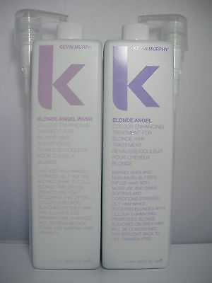 Kevin murphy blonde angel wash & treatment 2 x 1000 ml each brand new with pump.