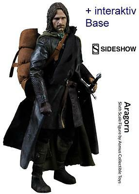 Herr Der Ringe Lord of the Rings 1/6 Aragorn 30cm Action Figur Sideshow Asmus