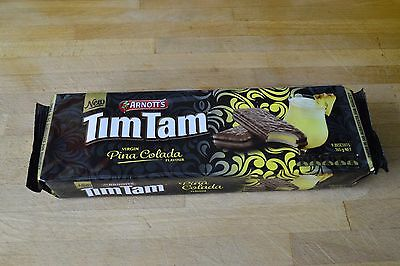 Tim Tam Pina Colada Flavour Biscuits Limited Edition Arnotts Timtams