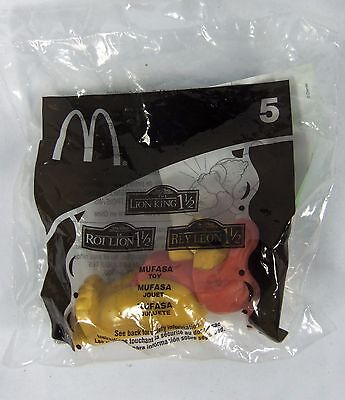 McDonalds Happy Meal Toy #5 Disney's Lion King Mufasa 2004