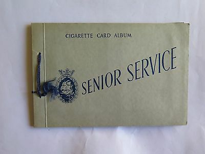 Senior Service Cigarette Card Album Coastwise. Complete Set of 48.