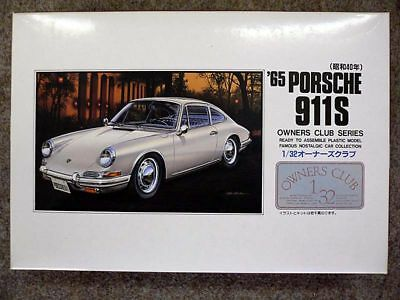 Arii Owners Club 1/32 23 1965 PORSCHE 911S 1/32 scale kit (Microace)
