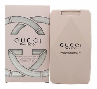 Gucci Bamboo Shower Gel 200Ml - Women's For Her. New. Free Shipping