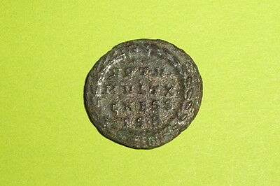 RARE & CHOICE Ancient ROMAN COIN wreath CONSTANTINE II vot v mvlt x caess tsb VF