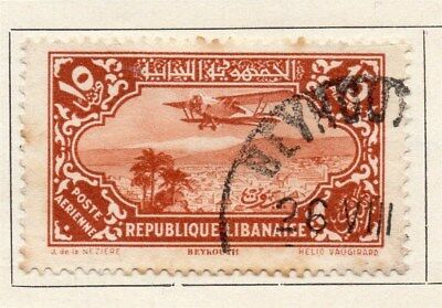 Great Lebanon 1930 Early Issue Fine Used 15p. 109506