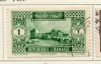 Great Lebanon 1931 Early Issue Fine Used 1p. 109509