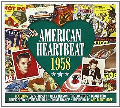 Various Artists - American Heartbeat 1958 / Various [New CD] UK - Import