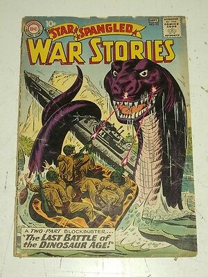 Star Spangled War Stories #92 Fr (1.0) Dc Comics September 1960**