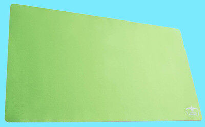 "ULTIMATE GUARD MONOCHROME LIGHT GREEN PLAY-MAT 61x35cm Card Game MTG 24""x14"""