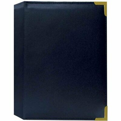 Pioneer SM57-NAB Oxford Brass Corner Series 5X7 24 Photo Album (Navy Blue)