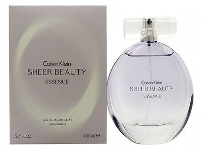 Calvin Klein Sheer Beauty Essence Eau De Toilette 100Ml Spray - Women's. New