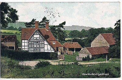 Sussex - Cpc - Farm House At Lye Green, Crowborough, 1910