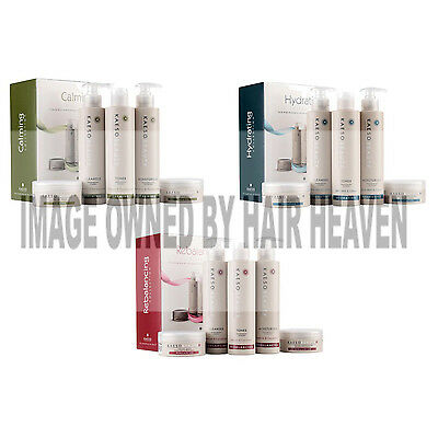 Kaeso Hydrating Facial Kit contains 5 products choose from 3 diff skin types