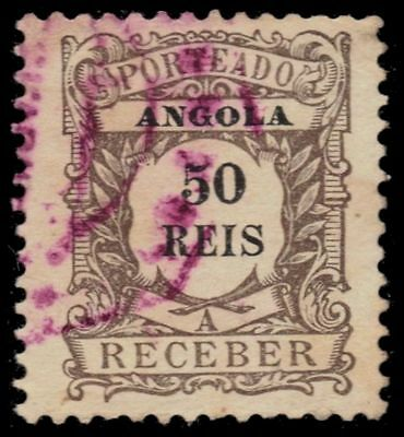 """ANGOLA J5 (Mi P5) - Numeral of Value """"Postage Due"""" (pa49337)"""
