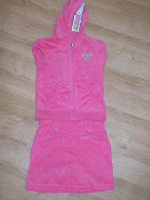 Towelling skirt and jacket by Tesco BNWT