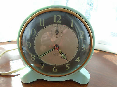 Vintage Smiths Sectric Alarm Clock Good Working Order