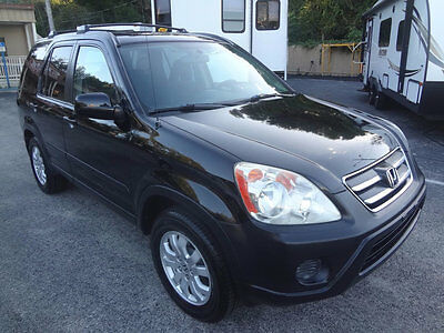 2006 Honda CR-V EX 2006 STUNNING CRV EX 4X4 5 SPEED~1 OF THE NICEST AROUND~BLACK BEAUTY~WARRANTY