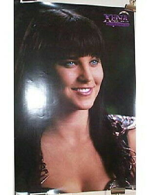 Xena, Warrior Princess Face and Chest Pose 23 x 35 Photo Poster 1997, NEW UNUSED