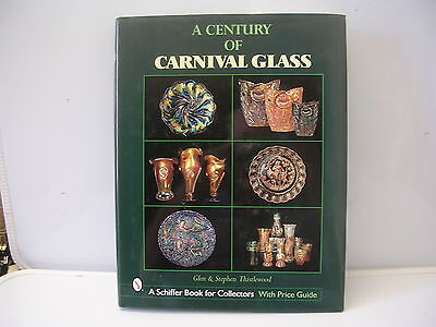 Schiffer Collector Book A Century of Carnival Glass Glen & Sstephen Thistlewood