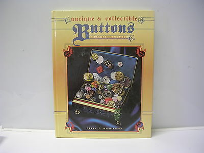 Antique & Collectible Buttons Identification & Values by Debra J. Wisniewski