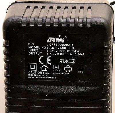 ARTIN 1:43 Slot Car Racing POWER ADAPTER P/N 976700028AR TESTED & WORKING