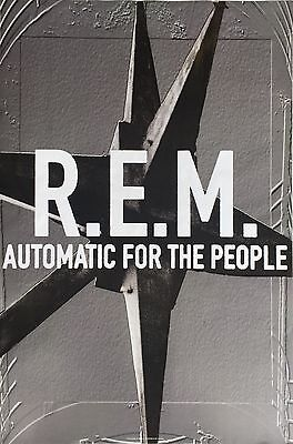 REM Automatic For The People Original Promo 1992 24 x 36 poster
