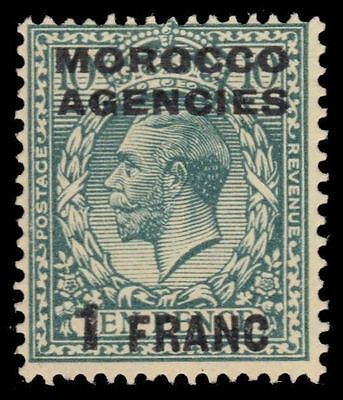 BRITISH OFFICES in MOROCCO 418 (SG210) - King George V (pf47911)