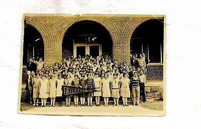 Vintage 1927 -1928 Class Photo, Loyalty, Native American Indian