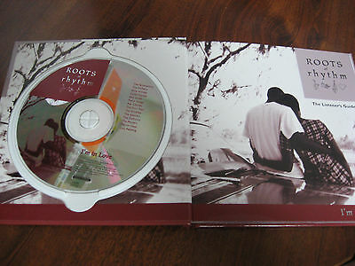 "Roots & Rhythm ""I'm in LOVE"" CD & Listeners Guide Book Blues Soul Music MINT"