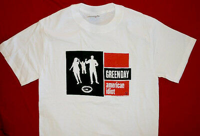 Green Day T-Shirt 2004 Tour White Size Large