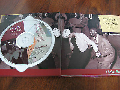 "ROOTS & Rhythm ""Shake, Baby, Shake"" CD /Listeners Guide Book Blues Soul Music"