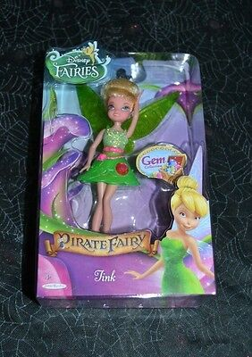 2014 Disney Fairies Tink The Pirate Fairy Gem Collection Vhtf